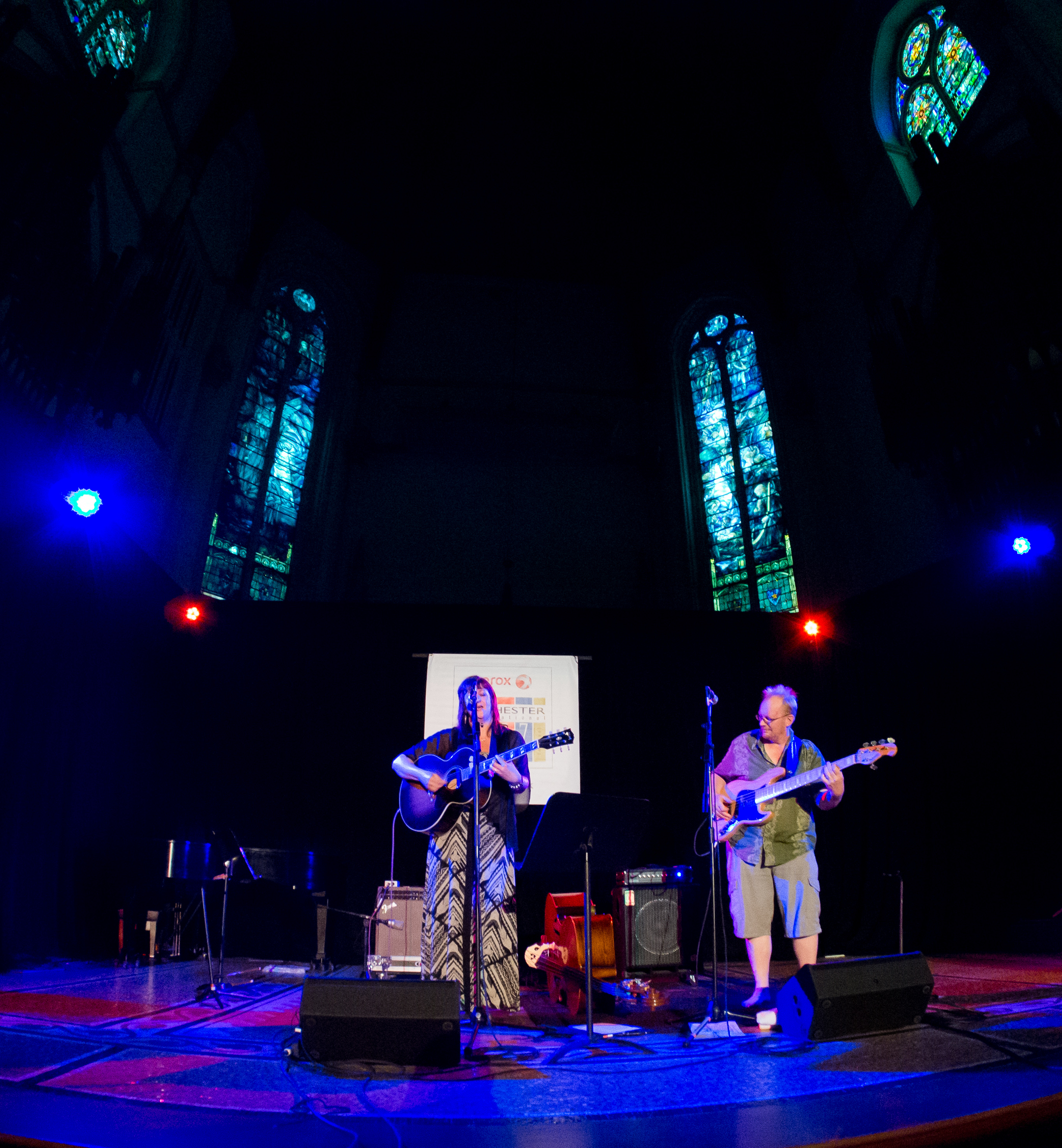 Bancroft & Lyne at Christ Church [Mark Druziak]